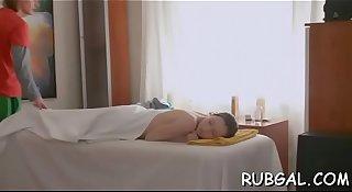 Massage cheerful end