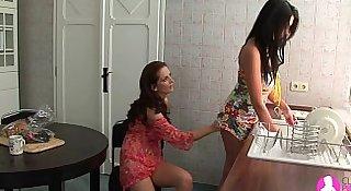 Seduced by Two Lesbian Milfs - Viv Thomas HD