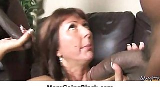 Hot MILF fucked by black monster 6