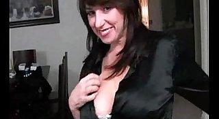 Milf brunette having sex