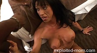 Big tits milf bangs black guy