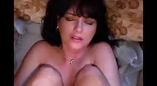Amateur ass fuck and creampie
