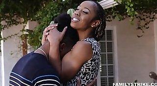 Black Family Orgy