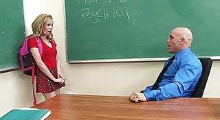 Teen Schoolgirl Gets Knocked Up By Teacher!